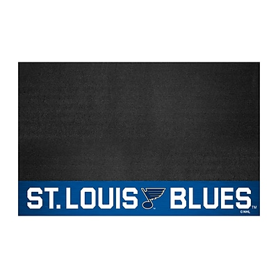 FANMATS Grill Mat, Vinyl, Team Color, 26