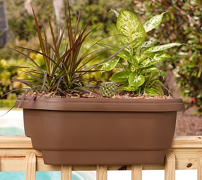 Bloem Deck Balcony Rail Planter, 24