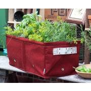 BloemBagz Raised Bed Planter Grow Bag, 12 Gallons, Union Red (RBP-12)