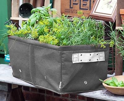 BloemBagz Raised Bed Planter Grow Bag, 12 Gallons, Peppercorn (RBP-60)