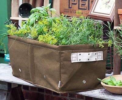 BloemBagz Raised Bed Planter Grow Bag, 12 Gallons, Chocolate (RBP-45)