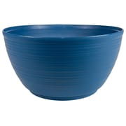 "Bloem Dura Cotta Plant Bowl, 15"", Deep Sea (PB15-31)"
