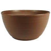 "Bloem Dura Cotta Plant Bowl, 15"", Chocolate (PB15-45)"
