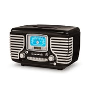 Crosley Black Corsair Radio With Bluetooth (CR612D-BK )