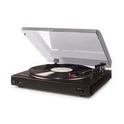 Crosley T200A Turntable In Black With Light Blue Lid (T200A-BK)
