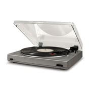 Crosley T200A Turntable In Silver With Charcoal Lid (T200A-SI)