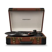 Crosley Executive Deluxe Portable Usb Turntable (CR6019D-BR)
