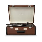 Crosley Portfolio Portable Turntable With Bluetooth Brown/Black (CR6252A-BR)