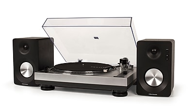 Crosley K100 Stereo Turntable System (K100A-SI)