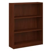 Bush Furniture Universal 3 Shelf Bookcase, Hansen Cherry (WL12474-03)