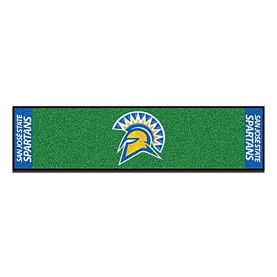 FANMATS Putting Green Mat, Asfault Green 18