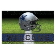 "FANMATS Crumb Rubber Door Mat, Team Color, 18""x30"" (19941)"
