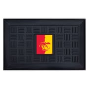 "FANMATS Medallion Door Mat, Rubber, Team Color, 19.5""x31.25"" (21667)"