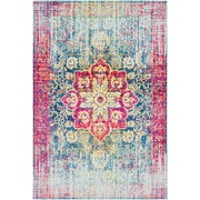 "Surya Aura Silk 5' 3"" x 7' 6"" Area Rug, Pink (ASK2303-5376)"