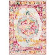 "Surya Aura Silk 7' 10"" x 10' 3"" Area Rug, Pink (ASK2305-710103)"
