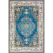 "Surya Aura Silk 7' 10"" x 10' 3"" Area Rug, Blue (ASK2306-710103)"