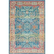 "Surya Aura Silk 7' 10"" x 10' 3"" Area Rug, Blue (ASK2310-710103)"