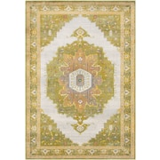 "Surya Aura Silk 5' 3"" x 7' 6"" Area Rug, Green (ASK2321-5376)"