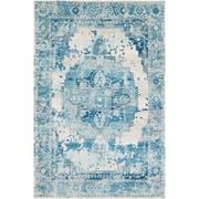 "Surya Aura Silk 7' 10"" x 10' 3"" Area Rug, Blue (ASK2328-710103)"