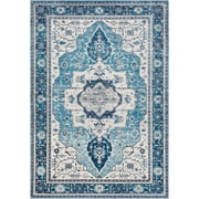 Surya Aura Silk 2' x 3' Area Rug, Blue (ASK2329-23)