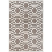 "Surya Basilica 5'2"" x 7'6"" Rectangle  Area Rug, Ivory/Tan (BSL7220-5276)"