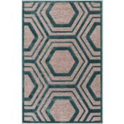 "Surya Basilica 2'2"" x 3' Rectangle  Area Rug, Blue (BSL7221-223)"