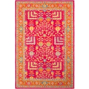 Surya Fire Work 2' x 3' Area Rug, Pink (FIR1000-23)