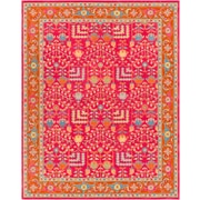 Surya Fire Work 8' x 10' Area Rug, Pink (FIR1000-810)