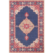 Surya Fire Work 2' x 3' Area Rug, Blue (FIR1005-23)