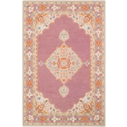 Surya Fire Work 8' x 10' Area Rug, Purple (FIR1006-810)
