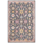 Surya Gorgeous 6' x 9' Area Rug, Black & Gray (GGS1000-69)