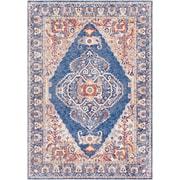 """Surya Mahal 5' x 7' 3"""" Area Rug, Blue (MHL2310-573)"""