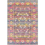 "Surya Aura Silk 7' 10"" x 10' 3"" Area Rug, Pink (ASK2301-710103)"