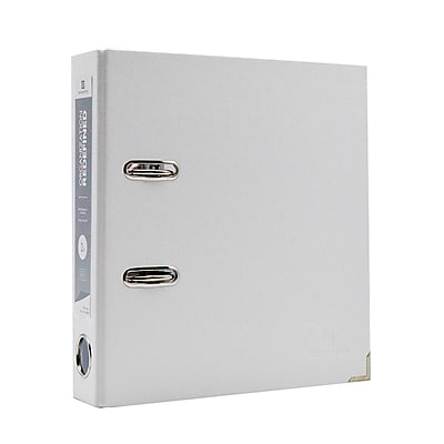 Bindertek Advantage™ 2-Ring 2-Inch Premium Mini Binders, White (FFS-WH)