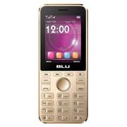 BLU Tank 4 Unlocked GSM Feature Phone - Gold (T510)