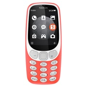 Nokia 3310 Unlocked GSM 3G Phone - Warm Red (TA-1036)