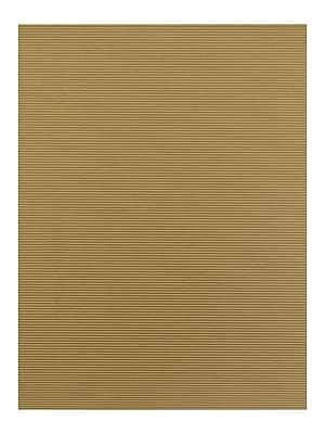 Global Art Folia Color Corrugated Paper natural 19 1/2 in. x 27 1/2 in. [Pack of 10](PK10-741010)