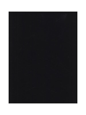 National Velour Heavyweight Colored Velour Sheet black [Pack of 6](PK6-3050 CS)