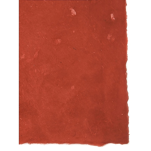 Graeham Owens Lokta Paper red 20 in. x 30 in. 20 g [Pack of 10](PK10-GO-LTRED)