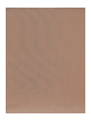 Global Art Folia Color Corrugated Paper brown 19 1/2 in. x 27 1/2 in. [Pack of 10](PK10-741085)