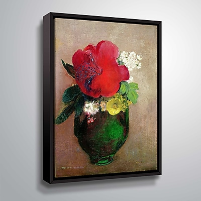 ArtWall The Red Poppy 24x32, Floater (1RED007A2432F)