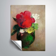 ArtWall The Red Poppy 14x18, Unframed (1RED007A1418P)