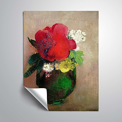 ArtWall The Red Poppy 36x48, Unframed (1RED007A3648P)