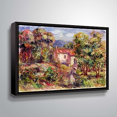 ArtWall Flowers in the Garden of Les Colettes at Cagnes 8x10, Floater (1REN030A0810F) 24306731