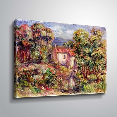 ArtWall Flowers in the Garden of Les Colettes at Cagnes 36x48, Unframed (1REN030A3648W) 24306819