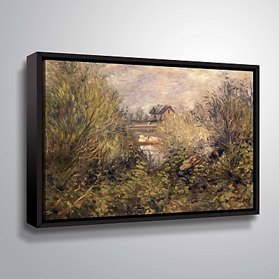 ArtWall The Seine at Argenteuil 24x36, Floater (1REN032G2436F)