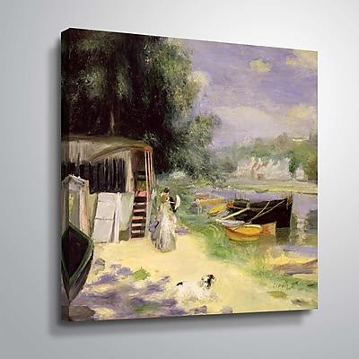 ArtWall View of Bougival 14x14, Unframed (1REN033A1414W)
