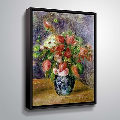 ArtWall Vase of Flowers 8x10, Floater (1REN034A0810F)