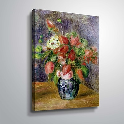 ArtWall Vase of Flowers 8x10, Unframed (1REN034A0810W)