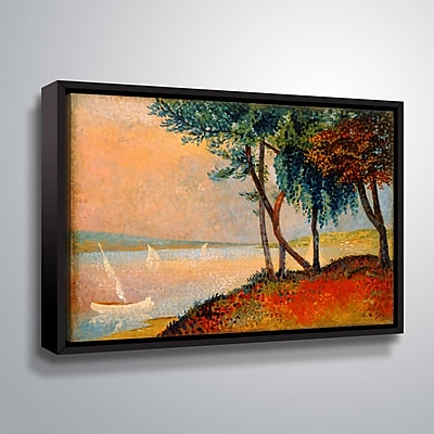 ArtWall The Outskirts of St. Tropez 18x24, Floater (1ROC001A1824F)
